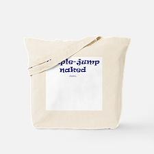 Triple-jump Naked Tote Bag
