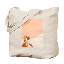 Afro Puffs Tan Tote Bag
