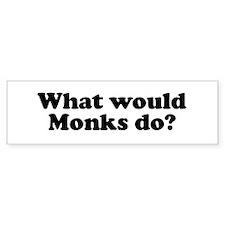 Monks Bumper Bumper Sticker