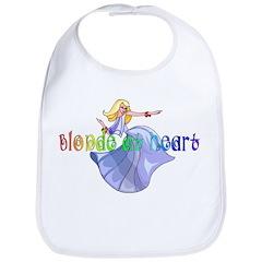 Blonde at Heart Bib