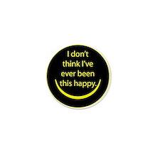 Happy Mini Button