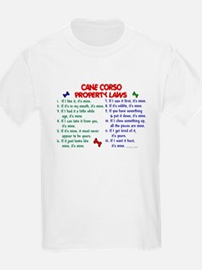 Cane Corso Property Laws 2 T-Shirt