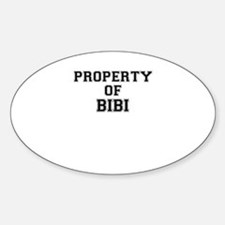 Property of BIBI Decal