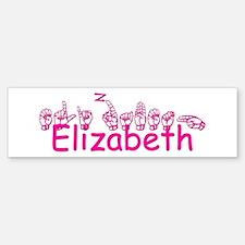 Elizabeth Bumper Bumper Bumper Sticker