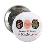 Peace Love Mistletoe Christmas 2.25