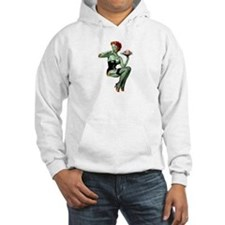 zombie pin-up girl Jumper Hoody