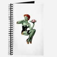 zombie pin-up girl Journal