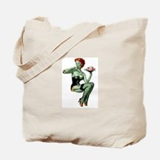 zombie pin-up girl Tote Bag