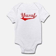 Yusuf Vintage (Red) Infant Bodysuit