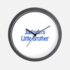 Jackson's Little Brother Wall Clock