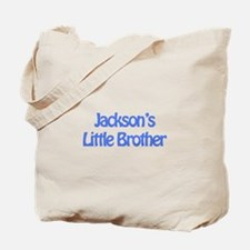 Jackson's Little Brother Tote Bag
