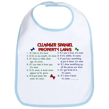Clumber Spaniel Property Laws 2 Bib