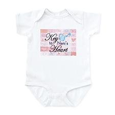 Key to Heart - Nani Infant Bodysuit
