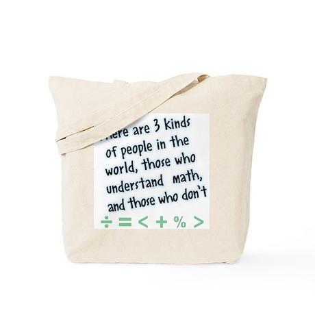 Math - Tote Bag