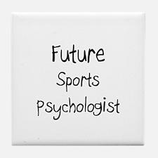 Future Sports Psychologist Tile Coaster