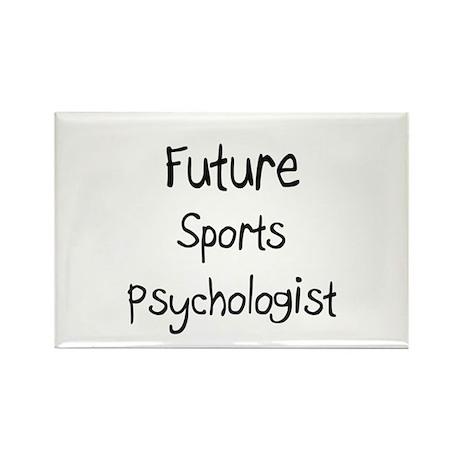 Future Sports Psychologist Rectangle Magnet