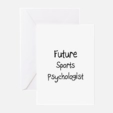 Future Sports Psychologist Greeting Cards (Pk of 1