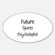 Future Sports Psychologist Oval Decal