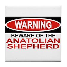 ANATOLIAN SHEPHERD Tile Coaster