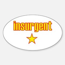 Communist Insurgent Oval Decal