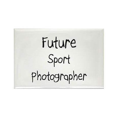 Future Sport Photographer Rectangle Magnet (10 pac