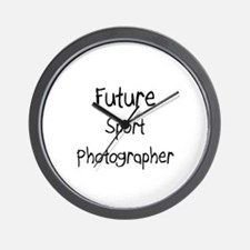 Future Sport Photographer Wall Clock