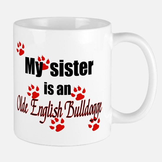 Olde English Bulldogge Sister Mugs