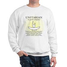 """""""Unitarian In Good Company"""" Sweatshirt"""