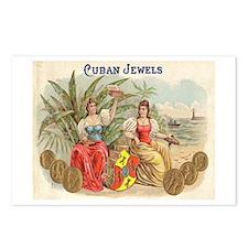 Cuban Jewels Cigar Art Postcards (Package of 8)