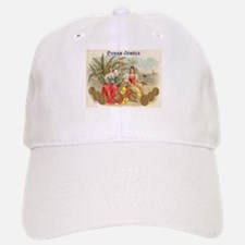 Cuban Jewels Cigar Art Baseball Baseball Cap