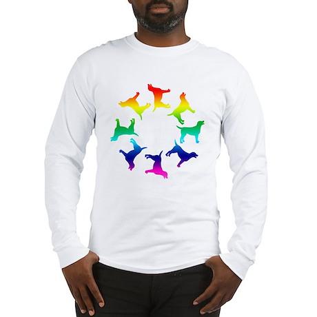 Rainbow Labs Circle Long Sleeve T-Shirt
