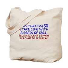 50th birthday Tote Bag
