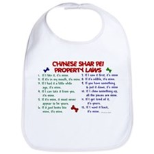 Chinese Shar Pei Property Laws 2 Bib