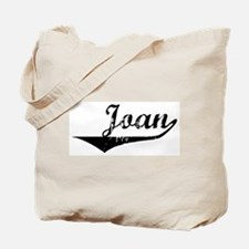 Joan Vintage (Black) Tote Bag