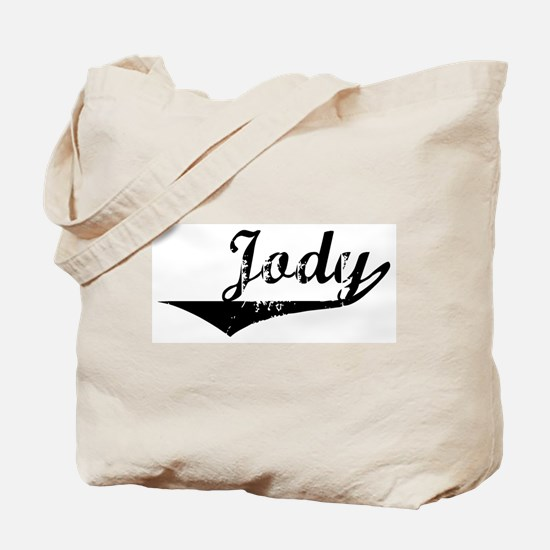 Jody Vintage (Black) Tote Bag