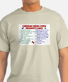 Cardigan Welsh Corgi Property Laws 2 T-Shirt