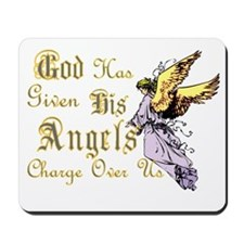 ANGELS WATCHING OVER US Mousepad