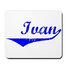 Ivan Vintage (Blue) Mousepad