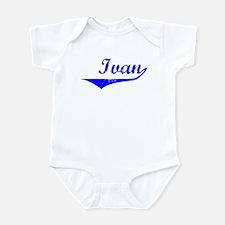 Ivan Vintage (Blue) Infant Bodysuit