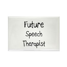 Future Speech Therapist Rectangle Magnet (10 pack)