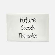 Future Speech Therapist Rectangle Magnet