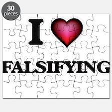 I love Falsifying Puzzle