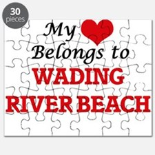 My Heart Belongs to Wading River Beach New Puzzle