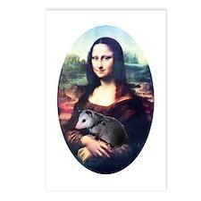 Mona Lisa Possum Postcards (Package of 8)