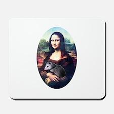Mona Lisa Possum Mousepad