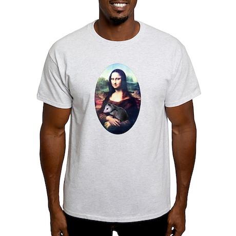 Mona Lisa Possum Light T-Shirt