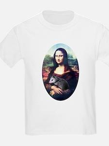 Mona Lisa Possum T-Shirt