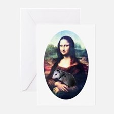 Mona Lisa Possum Greeting Cards (Pk of 10)