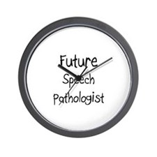 Future Speech Pathologist Wall Clock