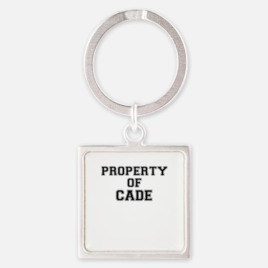 Property of CADE Keychains